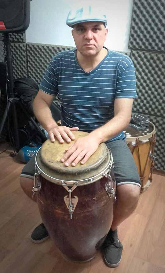 Ernesto Ocorso - Profesor del Taller de Percusión