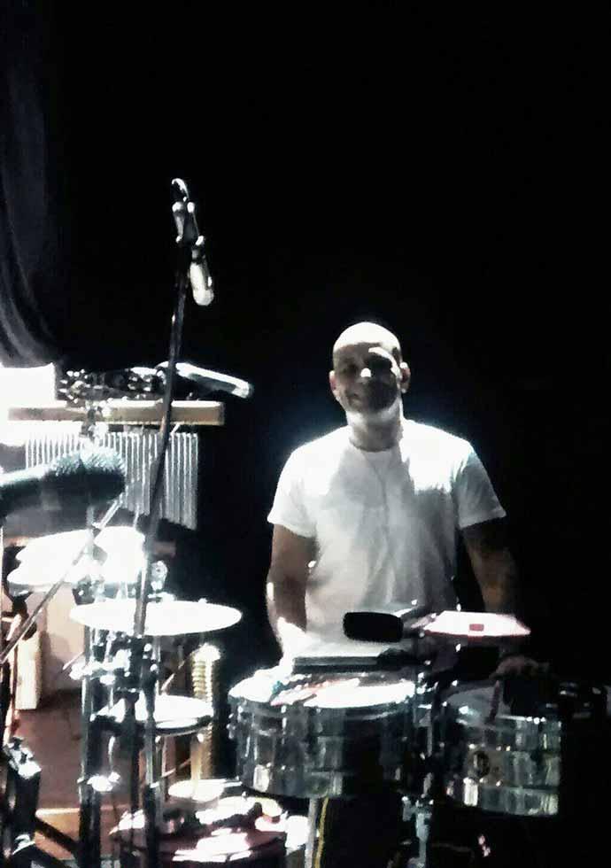 Julio Morales - Director del Taller de Percusión