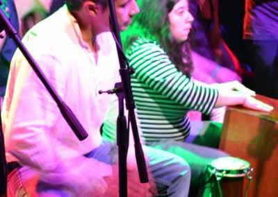 Presentación de los Ensambles de Percusión en vivo